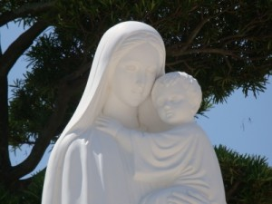 浦上天主堂聖母子像