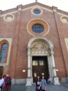 サンタマリア・デレ・グラッツィエ教会