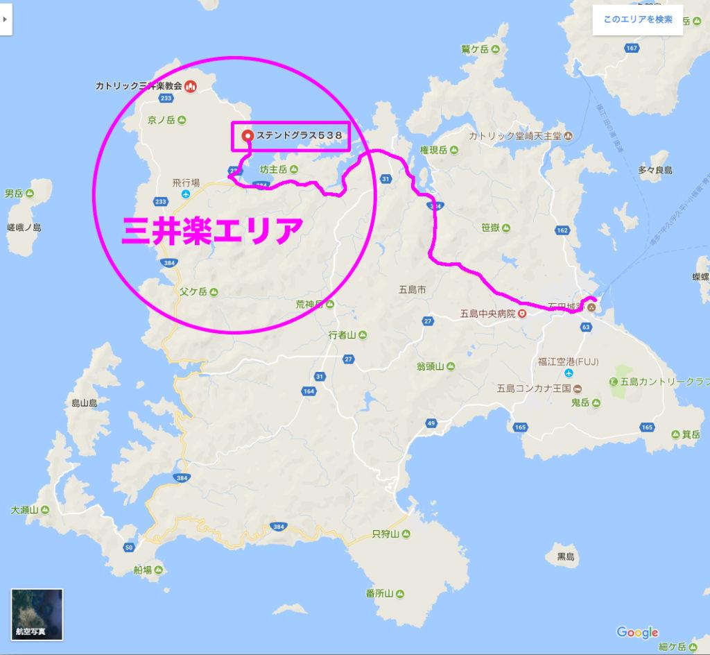 三井楽エリア