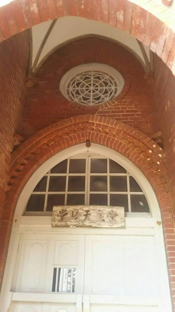堂崎教会のステンドグラス