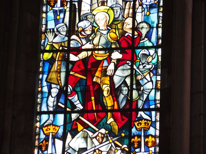 Jeanne d'Arc Vitraux